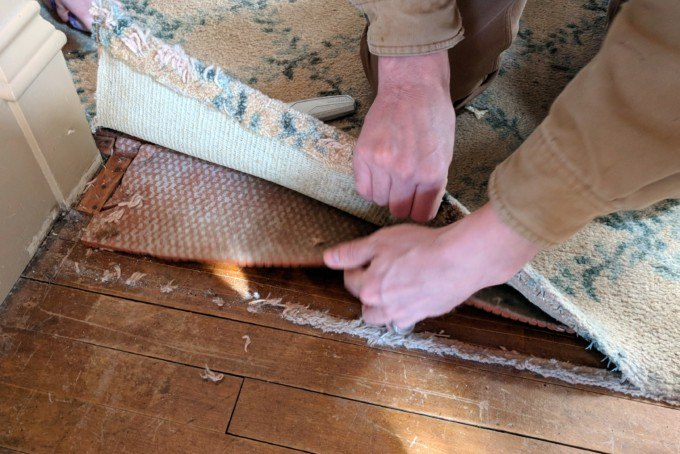 Removing Carpet Berkshire Hathaway Homeservices Wilmington